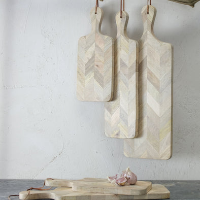 Herringbone Wooden Chopping Board
