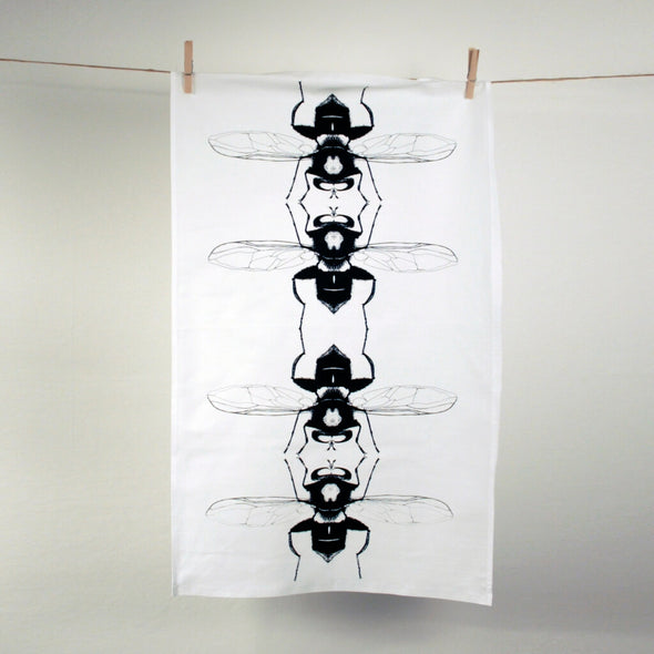 Hoverfly Insect Tea Towel
