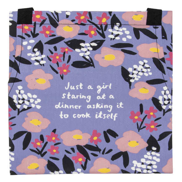 Just A Girl Cooking Apron