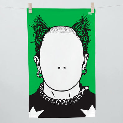 Keith Flint Tea Towel