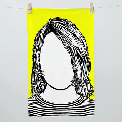 Kurt Cobain Tea Towel