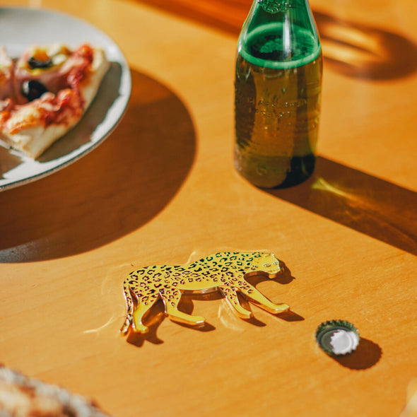 Leopard Bottle Opener