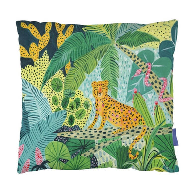 Leopard Jungle Cushion