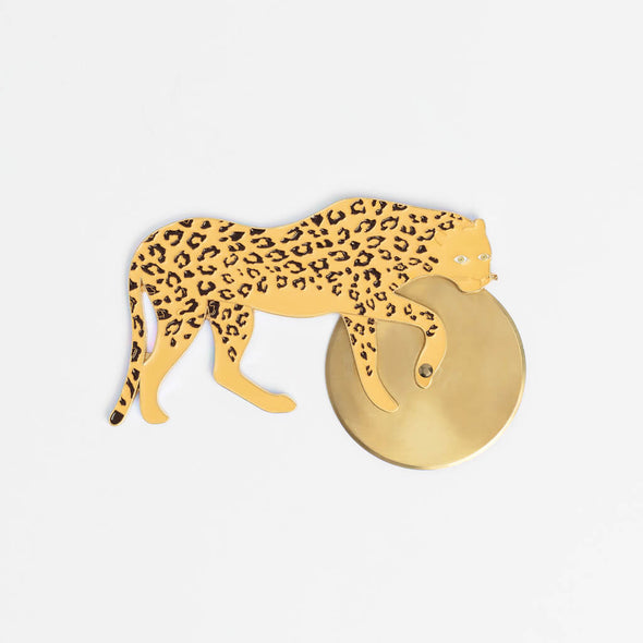 Leopard Pizza Cutter Wheel
