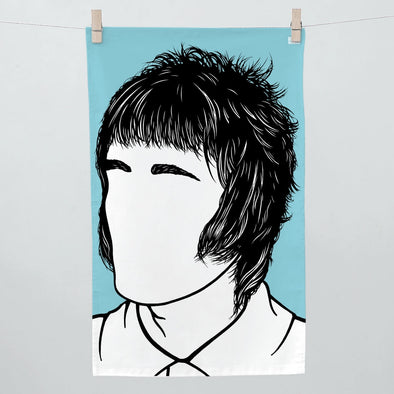 Liam Gallagher Tea Towel