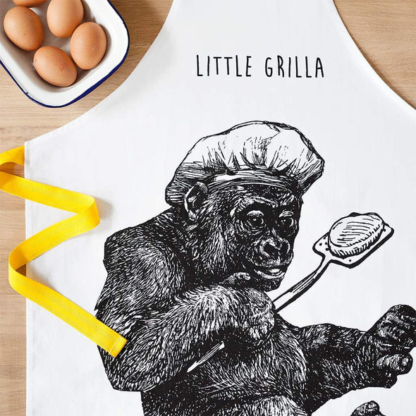 Little Gorilla Childrens Cooking Apron