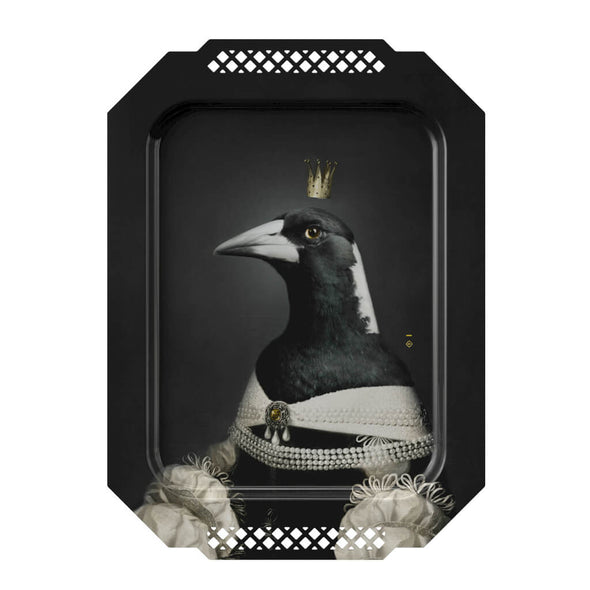 Magpie Portrait Serving Tray