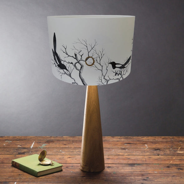 Magpies Lampshade