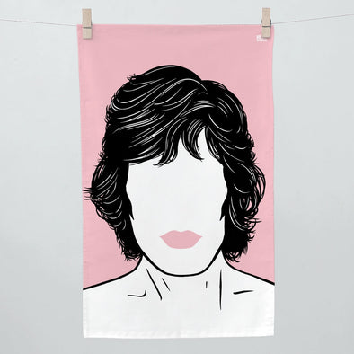 Mick Jagger Tea Towel