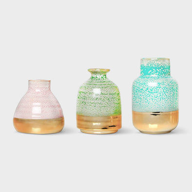 Mini Pastel Vases Set of 3