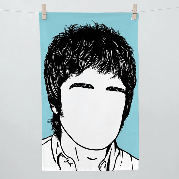 Noel Gallagher Tea Towel