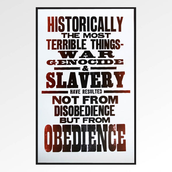 Obedience Print