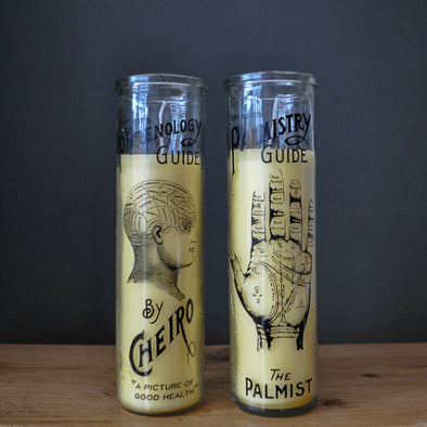 Palmistry And Phrenology Candles