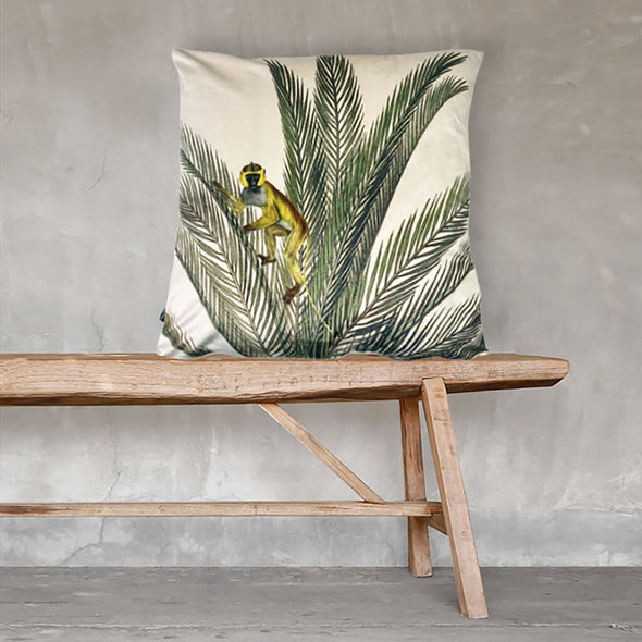 Palms Monkey Cushion