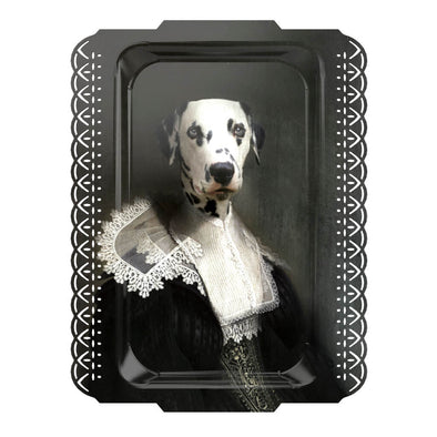 Rectangular Dalmatian Serving Tray