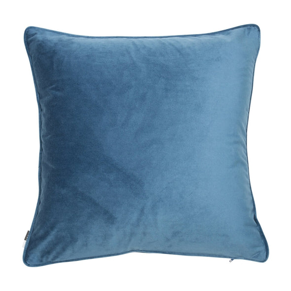 Regal Blue Velvet Cushion