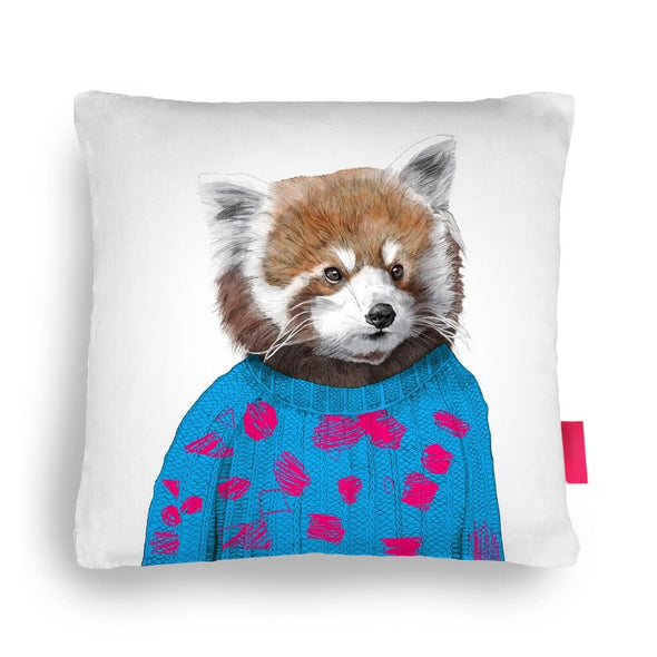 Robert the Raccoon Cushion