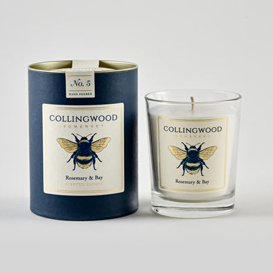 Rosemary and Bay Scented Candle