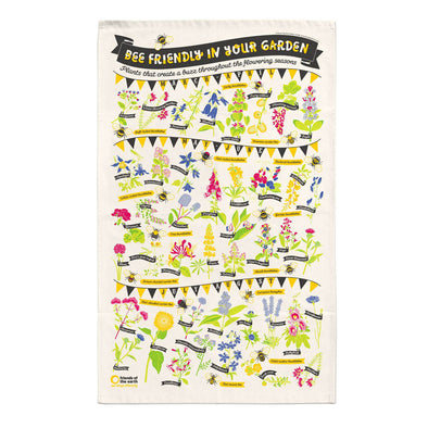 Save Our Bees Tea Towel