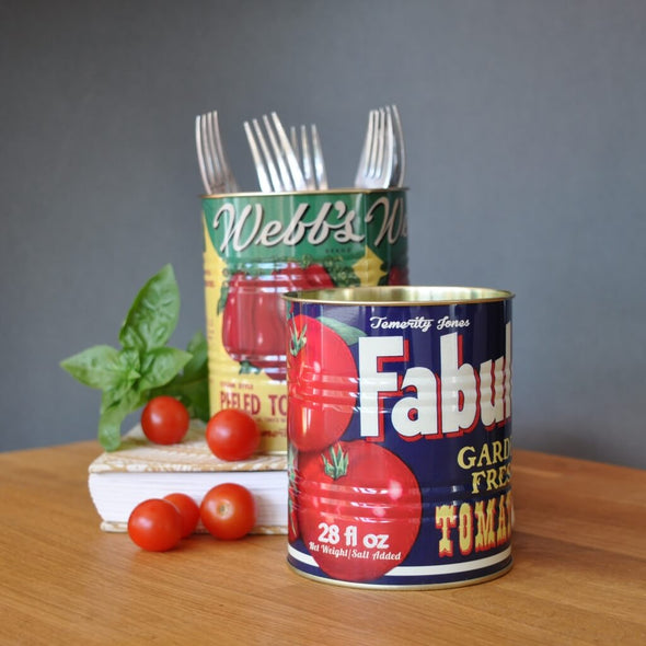 Set of Tomato Storage Tins