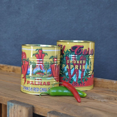 Set of Chilli Storage Tins