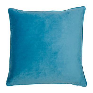 Sky Blue Velvet Cushion