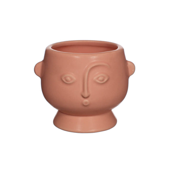 Small Pink Face Planter