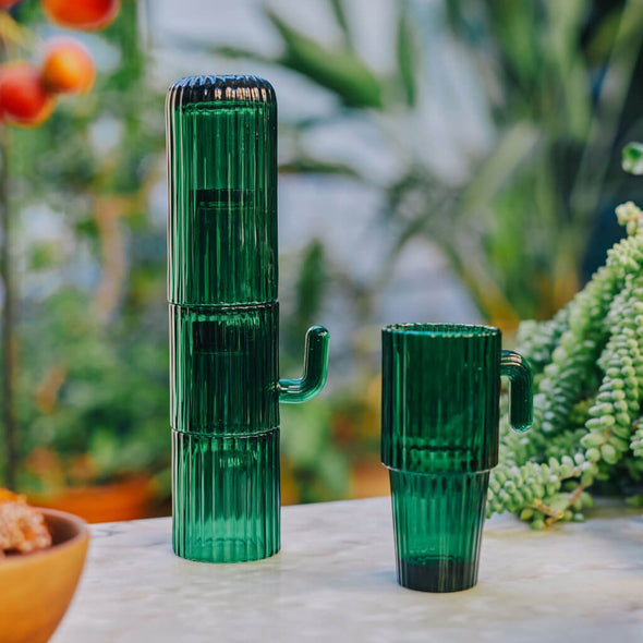 Stacking Cactus Glasses