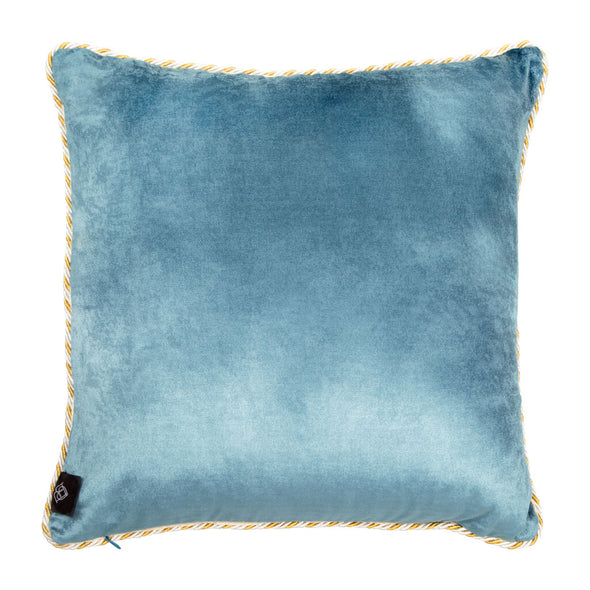 Tassel Camel Silk Cushion