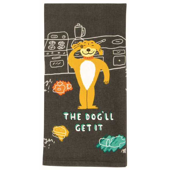 The Dog'll Get It Kitchen Towel