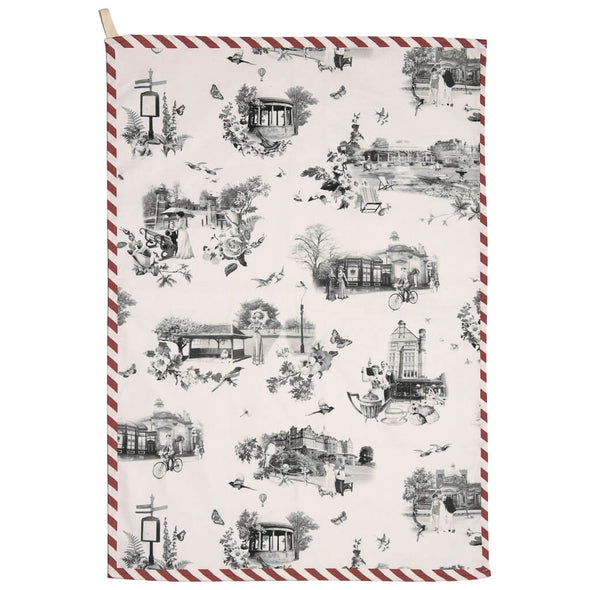 The English Spa Tea Towel