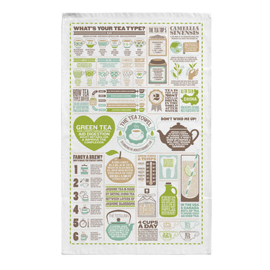 All About Tea Kitchen Towel