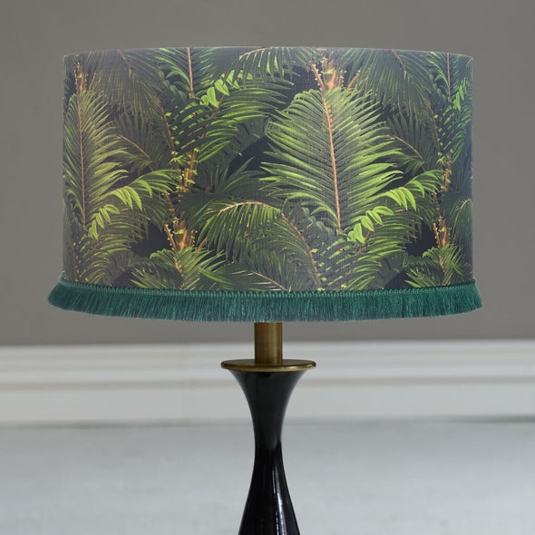 The Tropics  Lampshade With Gold Lining