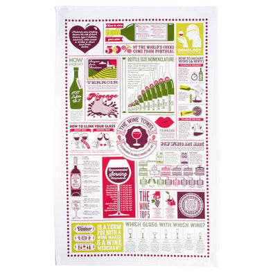 The Wine Tea Towel