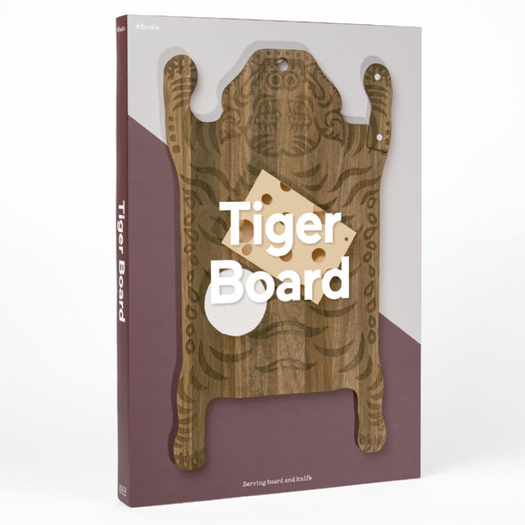 Tiger Chopping Board Gift Box