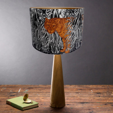 Tiger Lampshade