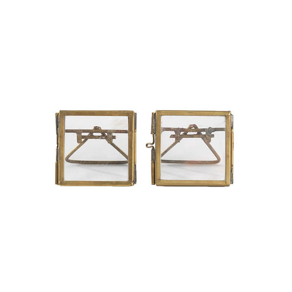 Tiny Brass Picture Frames