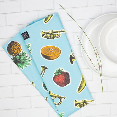 Tooty Fruity Tea Towel
