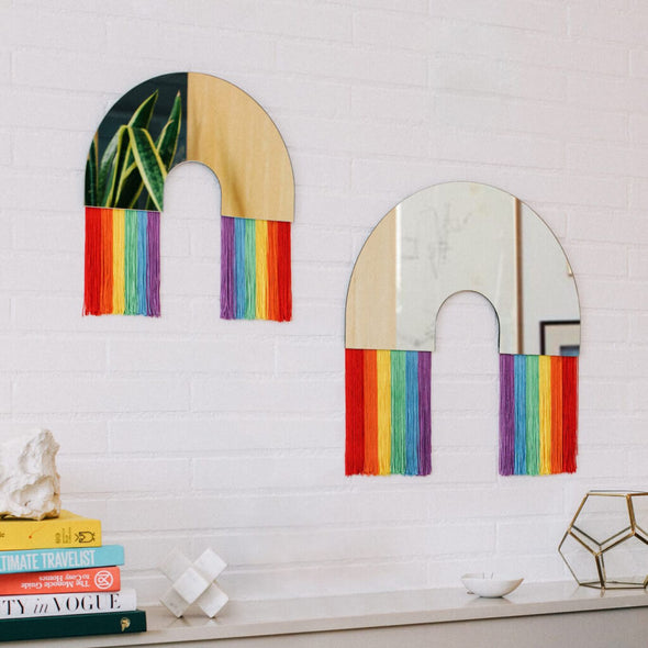 Wall Mirror Rainbow
