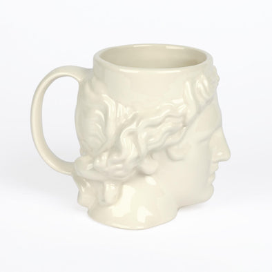 White Apollo Mug