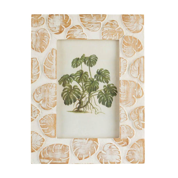 Wooden Palms Picture Frame