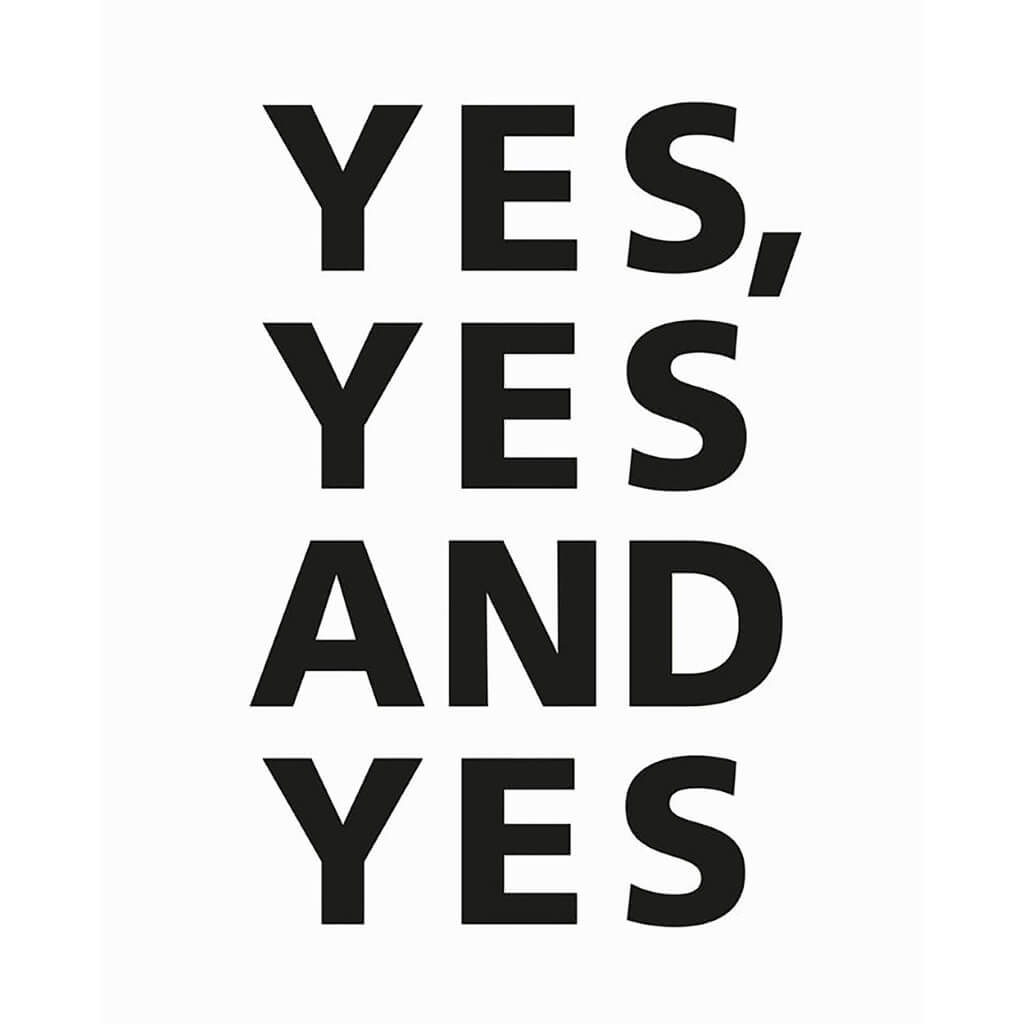 Yes, Yes and Yes Print – Mint & May