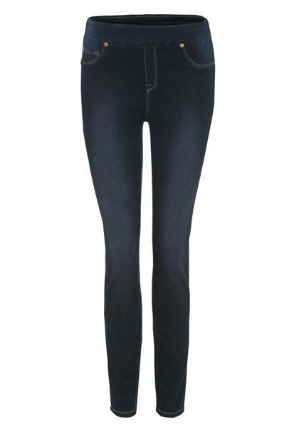 Tribal Jegging Dark Wash