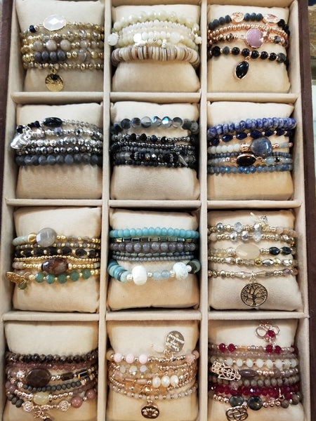 GC assorted beaded bracelets 404118