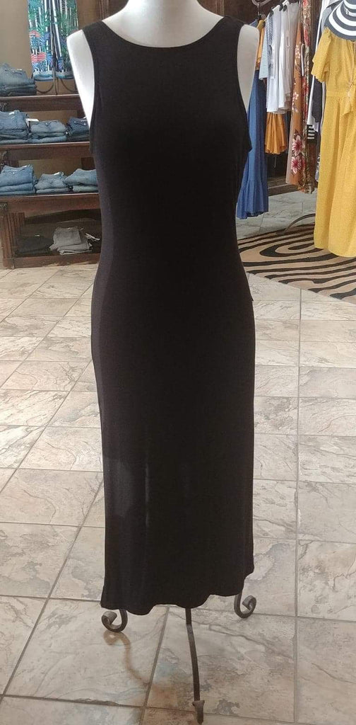 Lucy Love Black Mid-Length Maxi Dress