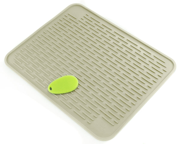 Xxl Silicone Dish Mat With Silicone Sponge 23 Quot X 18