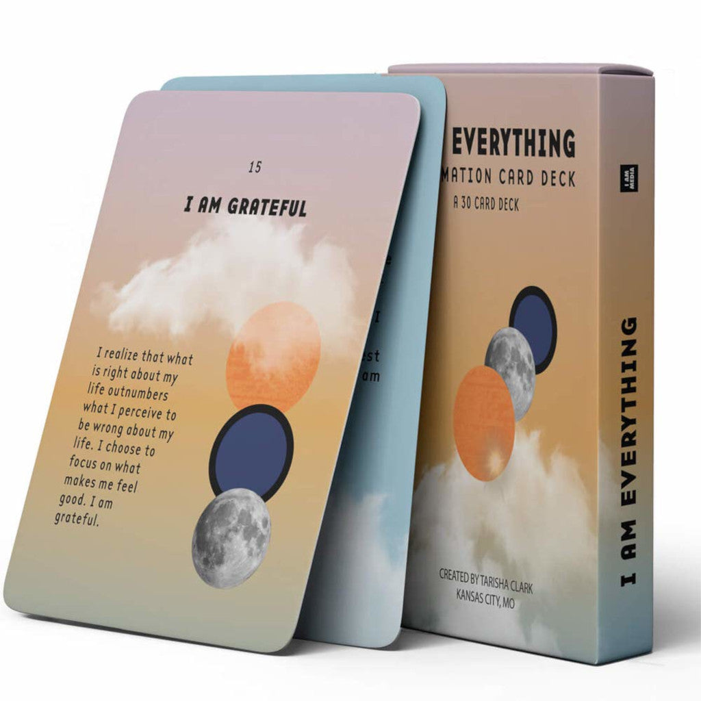 I AM Everything Affirmation Card Deck