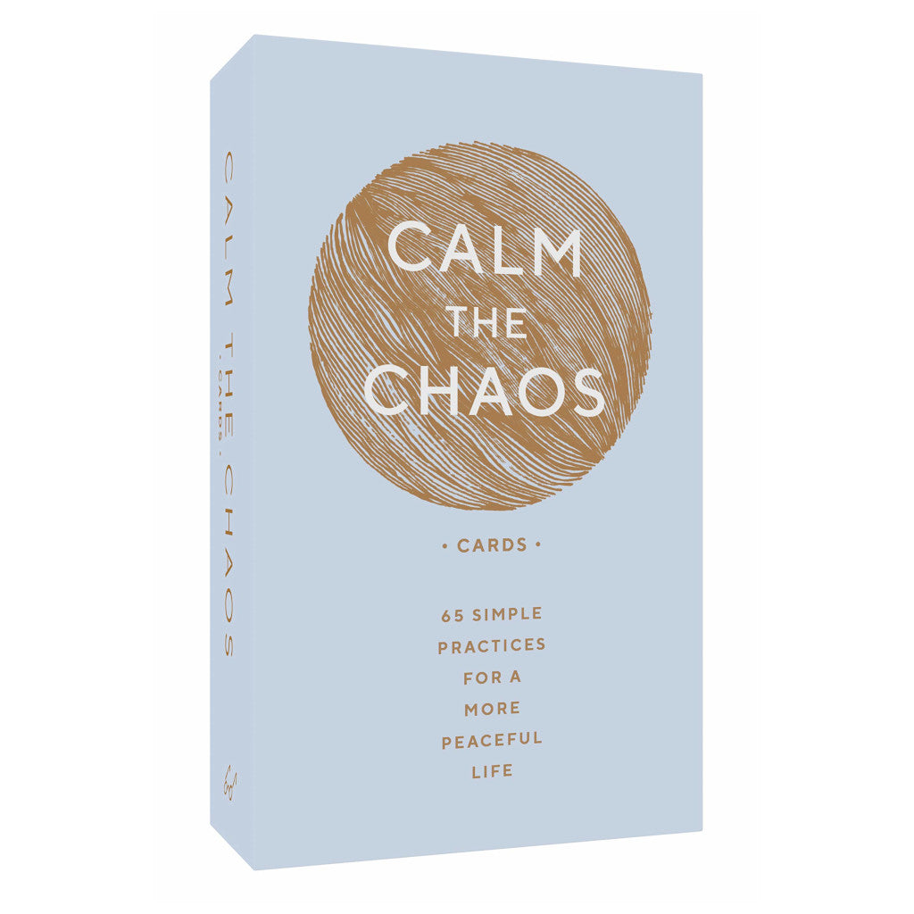 Calm the Chaos Cards: 65 Simple Practices for a More Peaceful Life Cards
