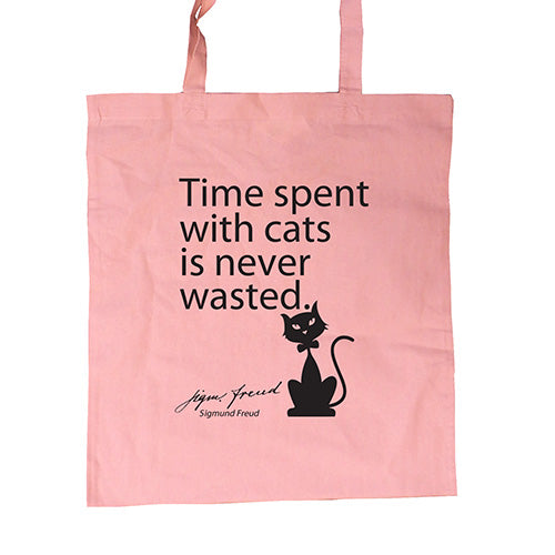 Shopping Bag Time spent with cats ...