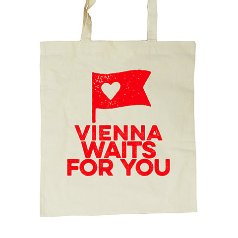 Shopping Bag VIENNA WAITS FOR YOU